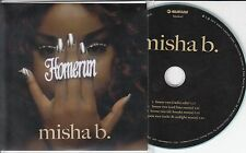 MISHA B Home Run 2012 UK 4-track promo test CD Zed Bias & DC Breaks Remixes