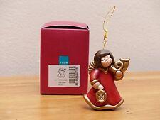 THUN  Weihnachtsschmuck Engel mit Horn Angelo con corno S503 A82