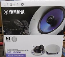 YAMAHA NS-IC800 NSIC800 IN CEILING SPEAKERS (ONE PAIR)