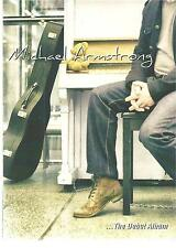 MICHAEL ARMSTRONG - The Debut Album - RARE 2015 14-track CD album-DVD style pack