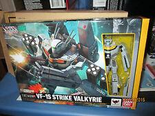 MACROSS HI-METAL R VF-1S STRIKE VALKYRIE  ROY FOCKER SPECIAL 1/100 BANDAI