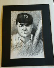BABE RUTH 20X16 PICTURE NEW YORK YANKEES