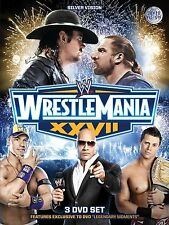 WWE Wrestlemania XXVII 27 Collectors Edition 3 DVDs orig WWF wrestling deutsch