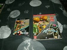 Metroid Prime/MP2 Demo For Gamecube/Wii Brand New Factory Sealed W/Guide