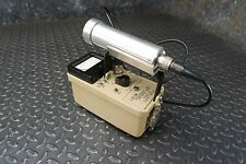Ludlum 3 CPS Geiger Counter Survey Meter & 44-7 Probe Alpha/Beta/Gamma