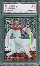 KEN GRIFFEY JR. 2005 Topps Finest REFRACTOR #/399 PSA 9 MINT Pop 2 Only 1 Higher