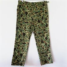 VINTAGE US ARMY EXPERIMENTAL JUNGLE CAMOUFLAGE VIETNAM WAR TROUSERS PANTS 38X30