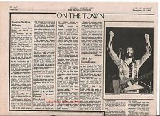 QUEEN Frankfurt,Germany 1974 concert review UK ARTICLE / clipping