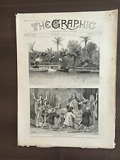 """""""THE GRAPHIC"""" (A Beautifully Illustrated British Weekly Newspaper)--Jan 26,1889"""