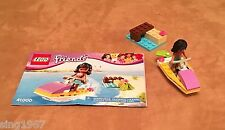 41000 Lego Complete Friends Water Scooter Fun beach wave rider Kate jet ski