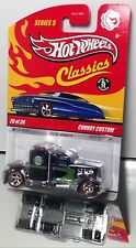 MOMC Hot Wheels 2009 Classics #26 CHASE dark green Convoy Custom VERY RARE