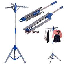 Laundry Rack Tripod Clothes Drying Hanger Dryer Collapsible Folding Indoor NEW