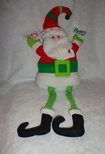 "Very Berry Christmas Santa Clause Decorative 24"" Plush Soft Toy Stuffed Animal"