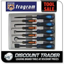 Fragram Tools 9 Piece Miniature & Heavy Duty Pick, Hook, Scraper Set S1714