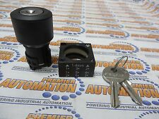 3SB3000-4AD01, SELECTOR SWITCH 2POSITION KEY OPERATED