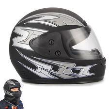 Casque de Moto Nubuck Noir Jet Visière casques intégraux de moto ABS