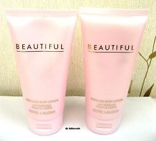 ESTEE LAUDER BEAUTIFUL PERFUMED BODY LOTION - 2 X 75ML
