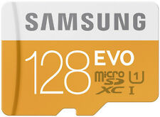 Samsung Evo 128 GB microSDXC card with Adapter 128GB Micro Sd Card 48mb/s