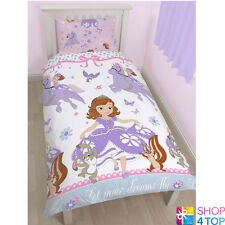 DISNEY PRINCESS SOFIA THE FIRST WINGS SINGLE DUVET SET COVER QUILT BEDDING NEW