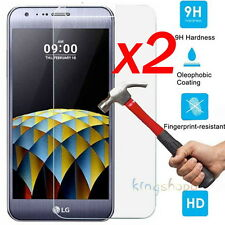 2Pcs 9H Clear Premium Tempered Glass Screen Protector Film Guard For LG X Cam