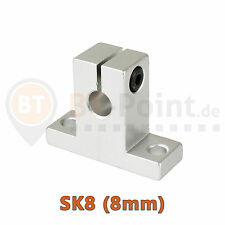 Wellenhalter SK8 8mm linear rail shaft SH8A 3D Drucker Printer CNC RepRap Prusa