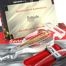 Montegrappa Tribute to Ayrton Senna Solid Gold Limited Edition Fountain Pen