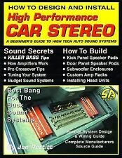 *NEW* S-A 163 How to Design and Install High Performance Car Stereo.