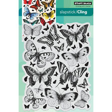 """""""Penny Black Cling Stamp 5""""""""X7""""""""-Butterfly Charmer"""""""