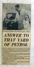 1960 South London Motors Tester Arthur Smith Yard Of Petrol Competition