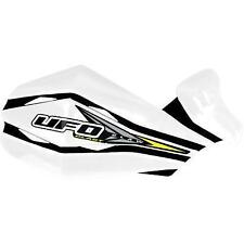 UFO Plastics Claw Handguards  White PM01640-041*
