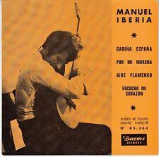 45 T EP MANUEL IBERIA *CARINA ESPANA* (GUITARE / FLAMENCO)