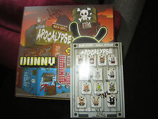 Huck Gee Apocalypse Dunny Series 2013 Signed Unopened Case of 16 + Post card