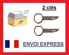 x2 clés d'extraction de démontage façade autoradio stereo FORD FIESTA et MONDEO!