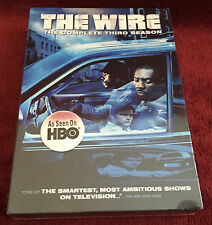 The Wire The Complete Third Season 3 New Sealed Box Set