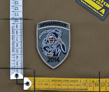 "Ricamata / Embroidered Patch US SF ""Afghanistan 2014"" with VELCRO® brand hook"