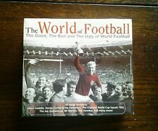 Various Artists - World of Football [1998] 3 X CD Box Set New Sealed. 50 Tracks.