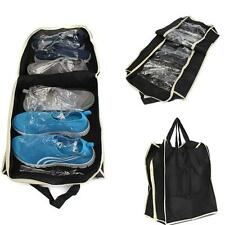 Portable Shoe PackingTote Cheap Storage Organizer Travel Waterproof Bag Black CB