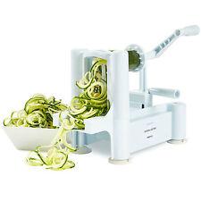 Andrew James - Spiralizer Vegetable Fruit Slicer Peeler Chopper Shredder