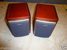 2x Philips FB 175 PH Stereolautsprecher / Boxen in edler Optik, 2J. Garantie