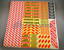 Tamiya Scania 1/14 Scale Truck Warning Attention Safety Sign Decals Stickers
