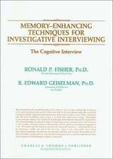 MEMORY-ENHANCING TECHNIQUES FOR INVESTIGATIVE INTERVIEWING - NEW PAPERBACK BOOK