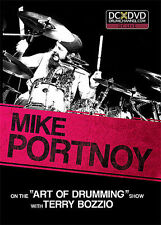 MIKE PORTNOY TERRY BOZZIO ART OF DRUMMING NEW DRUM DVD