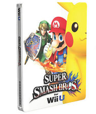 Super Smash Bros. Wii U Steelbook G2 CASE (NO GAME) | Nintendo | New, sealed