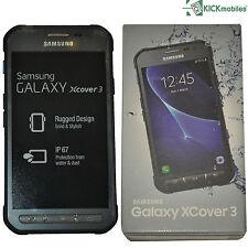 Nuevo SAMSUNG GALAXY XCOVER 3 8GB SM-G388F Oscuro Plateado Desbloqueado de fábrica 4G Celular