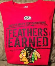 Chicago Blackhawks 2010 Stanley Cup Champions T-Shirt Size XL by Majestic