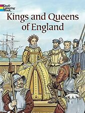 Kings and Queens of England (Dover History Coloring Book)by John Green Paperback
