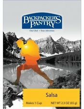 Backpacker's Pantry Freeze Dried Salsa w/Jalapeno Spice Packet 1-Cup Camp Food