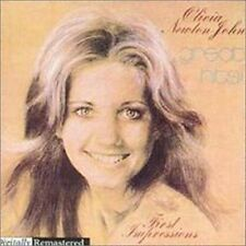 OLIVIA NEWTON-JOHN GREAT HITS FIRST IMPRESSIONS REMASTERED CD NEW