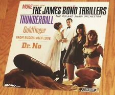 VINYL LP Roland Shaw Orchestra - More Themes From The James Bond Thrillers