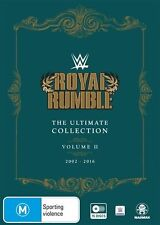 WWE: Royal Rumble Ultimate Collection Vol 2 (2002-2016) NEW R4 DVD